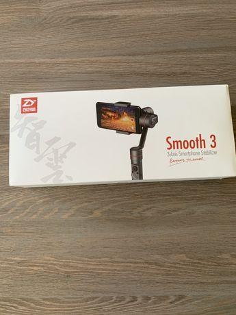 Gimbal zhiyun smooth 3 + monopod