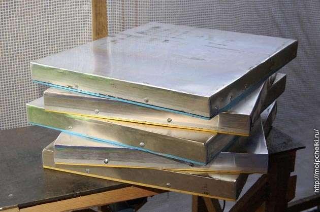 продам аллюминиевые листы,для ульев.для пчел.покрытие на крышу улья