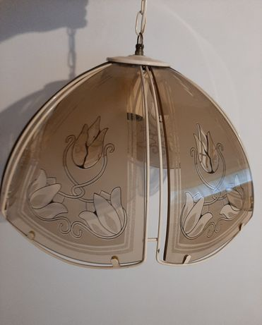 Lampa wisząca antyk