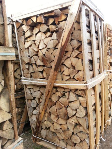 Dukat drewno kominkowe opałowe, grab