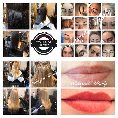 Raty - KURSY/ SZKOLENIA : Makijaż Permanentny, Przedłużanie Włosów