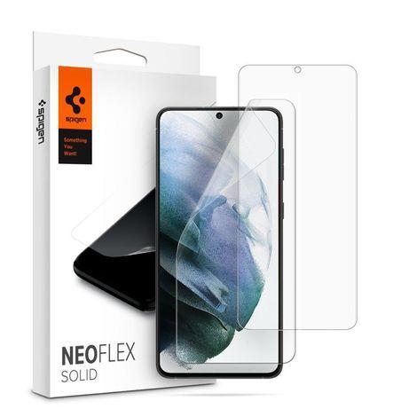 Película De Plástico Spigen Neo Flex Galaxy S21 Plus - Transparente