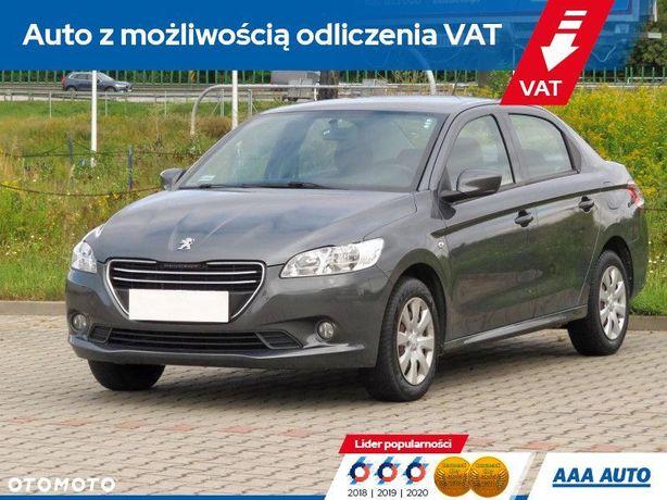 Peugeot 301 1.2 VTi, Salon Polska, Serwis ASO, VAT 23%, Klima, Tempomat
