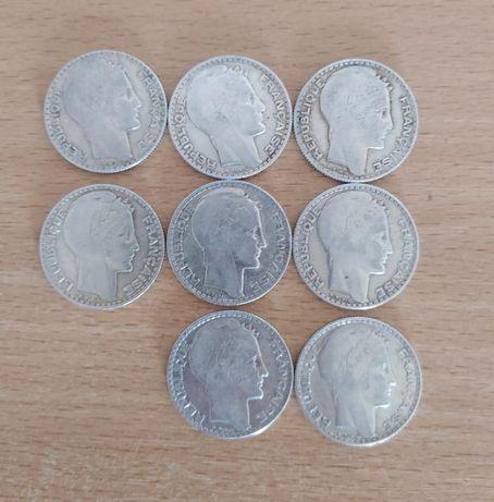 10 франков 1932 года Серебро
