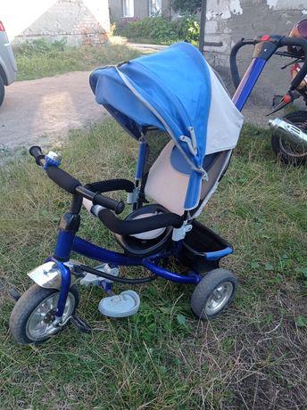 Дитячий велосипед з батьківською ручкою.велосипед з ручкою,прогулочний