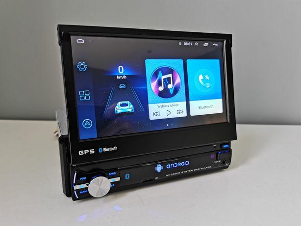 """Radio samochodowe android 9 RDS WiFi GPS 7"""" dotykowe 1 din nawigacja"""