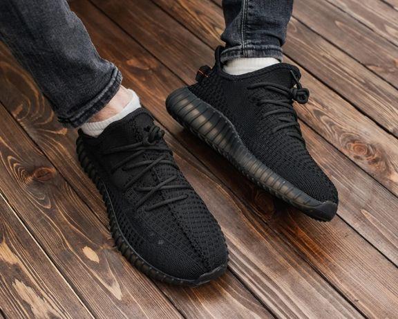 Кроссовки Adidas yeezy boost 350 V2 Black /Адидас изи буст