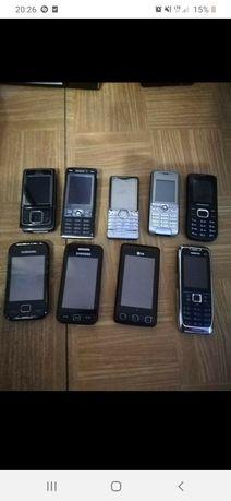 Sprzedam 9 w pełni sprawnych telefonów (możliwość zmiany jak i kupna n