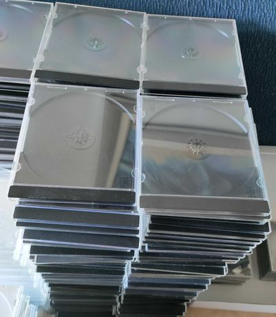 Jewel case cd dvd pack 50 usado