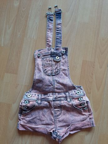 Ogrodniczki jeansowe 3/4  lata