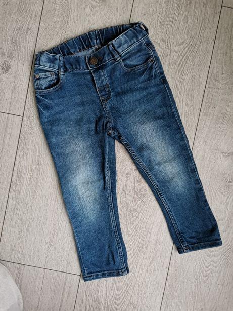 Синие джинсы на мальчика H&M