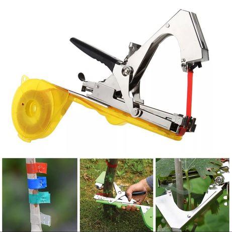 Máquina atadora varas, videiras, kiwis, árvores, framboesas, mirtilos,