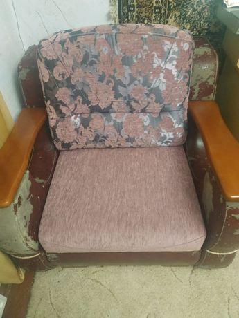 Крісло ( розкладне ) + диван