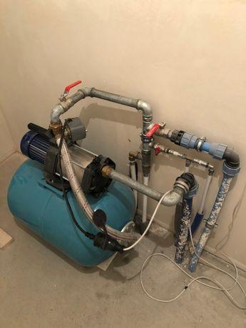 Serwis Naprawa Pomp hydroforów hydrofor pompa głębinowa