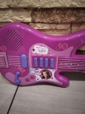 gitara interaktywna violetty