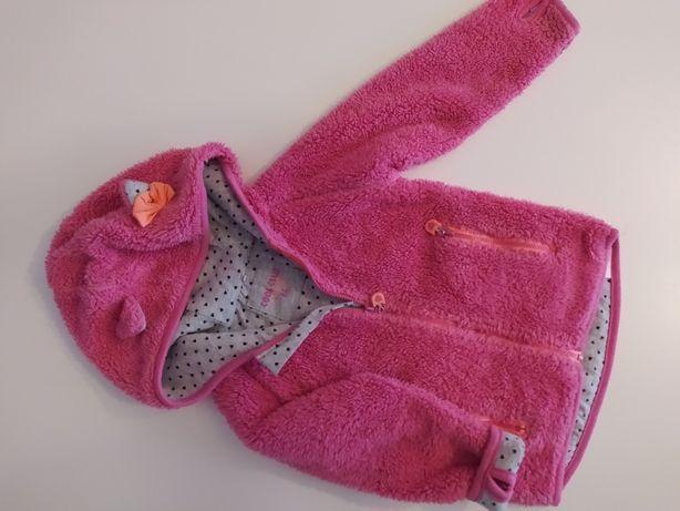 Bluza dziewczęca 86 Cool club ciepła różowy