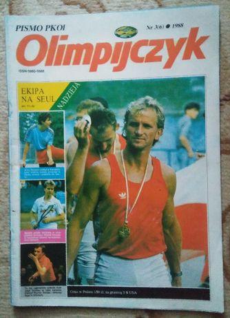 Pismo PKOl Olimpijczyk 1988