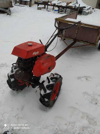 Traktorek jednoosiowy dzik