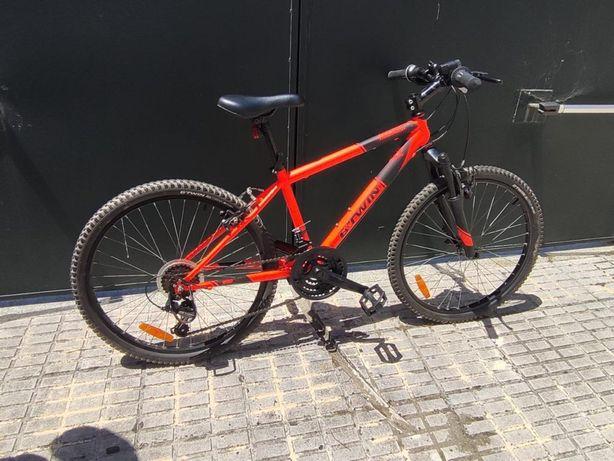 Bicicleta btwin crianca roda 24 bem estimada