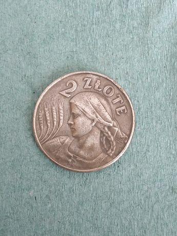 2 злотих 1924 серебро