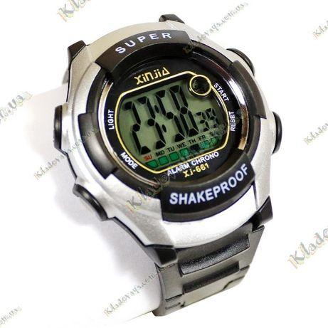 Спортивные часы с цифровые с подсветкой