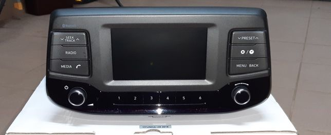 Radio Hyundai i30 oryginał Bluetooth; stan idealny