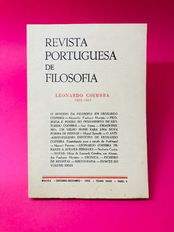 Revista Portuguesa de Filosofia - Autores Vários