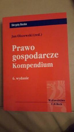 Prawo gospodarcze. Kompendium. Jan Olszewski
