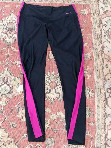 Spodnie fitness dresowe sportowe Nike
