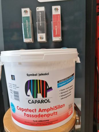 Tynk Silikonowy  25kg Caparol Amphisilan k15