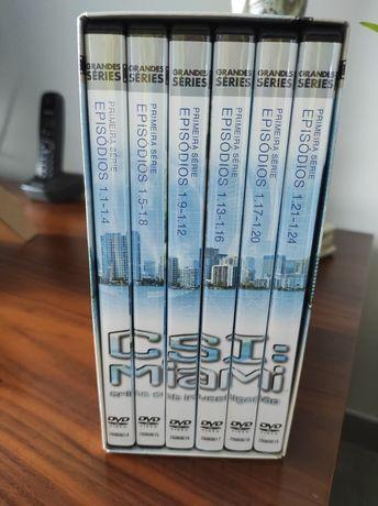 DVD's CSI Miami temporada 1