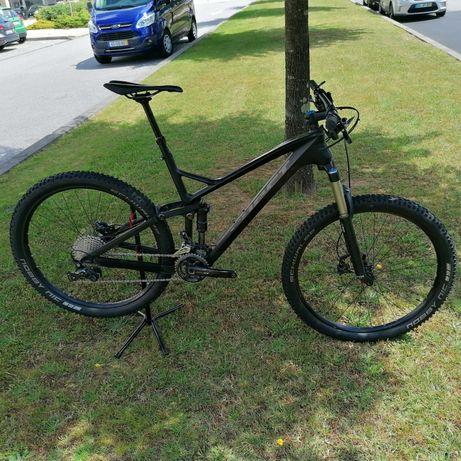 Bicicleta btt Ghost em carbono roda 27.5 tamanho L