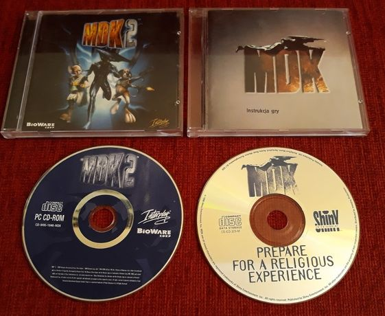 MDK + MDK 2 PC - premierowe wydania