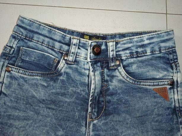Spodenki chłopięce wiosna lato Cars Jeans 6-lat