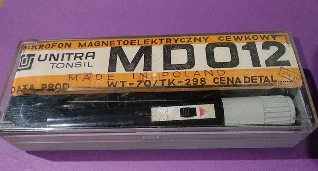 Mikrofon Unitra Tonsil MD-012 , PRL - lata 70, super stan