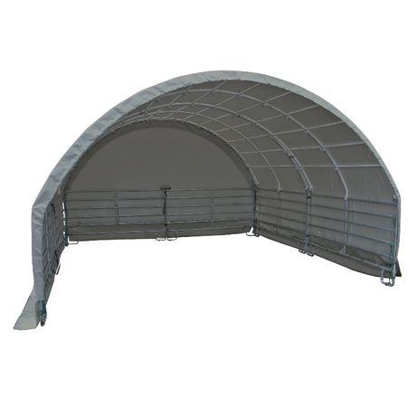 Osłona przeciwwiatrowa 6x6 w komplecie z podporami łukowymi