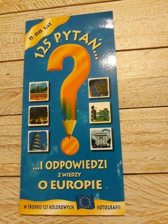 125 pytań i odpowiedzi z wiedzy o Europie