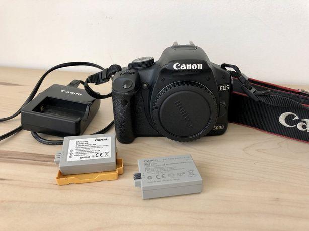 Camara Fotografica Canon 500D + duas baterias