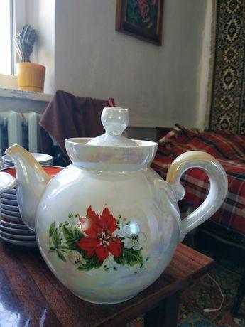Чайник большой, керамика