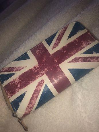 portfel z flaga UK duzy i pojemny