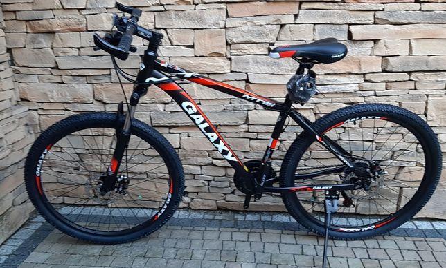 Rower 26 cali Galaxy GLX Shimano,2 ham. tarczowe amortyz super cena!!!