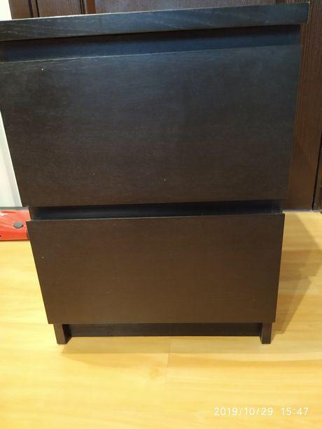 Komoda Ikea malm dwie szuflady
