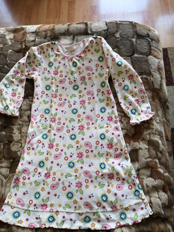 Piżama, koszula dziewczęca do spania bawełna r 116.