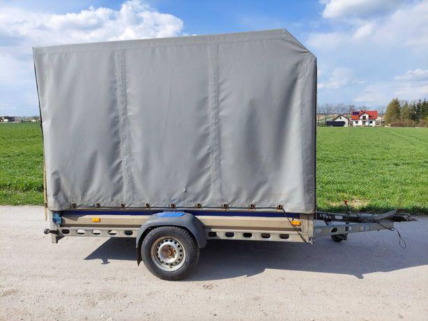 Przyczepka Ciężarowa Wiola z Hamulcem Duża Dmc 1080kg Przyczepa