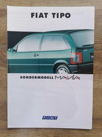 Prospekt Fiat Tipo Mania