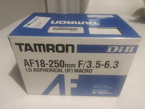 Obiekty Macro TAMRON 18-250 Nikon NOWY