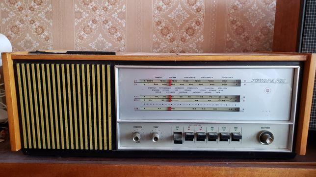 Продам магнитофон, радиоприемник, магнитола ретро Рекорд 301