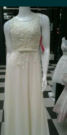 Suknia dla druhny, panny mlodej rozmiar 38