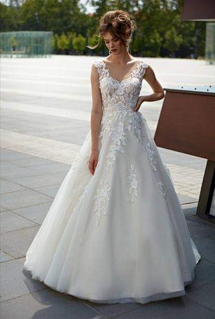Suknia ślubna Ambrozja 1811 używana w bardzo dobrym stanie