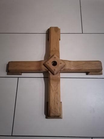 Stojak do choinki drewniany